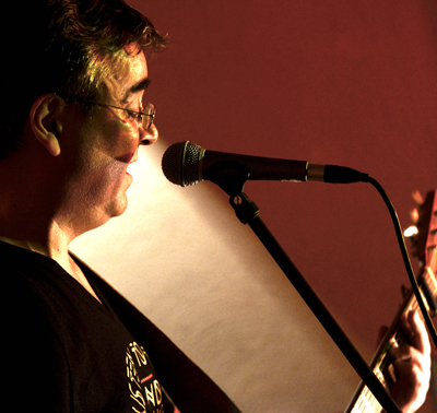 Foto von Peter Bachmann live